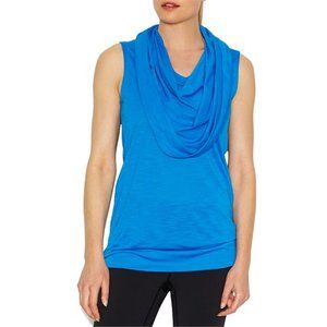Lucy Body and Mind  Blue Tunic Tank Top M